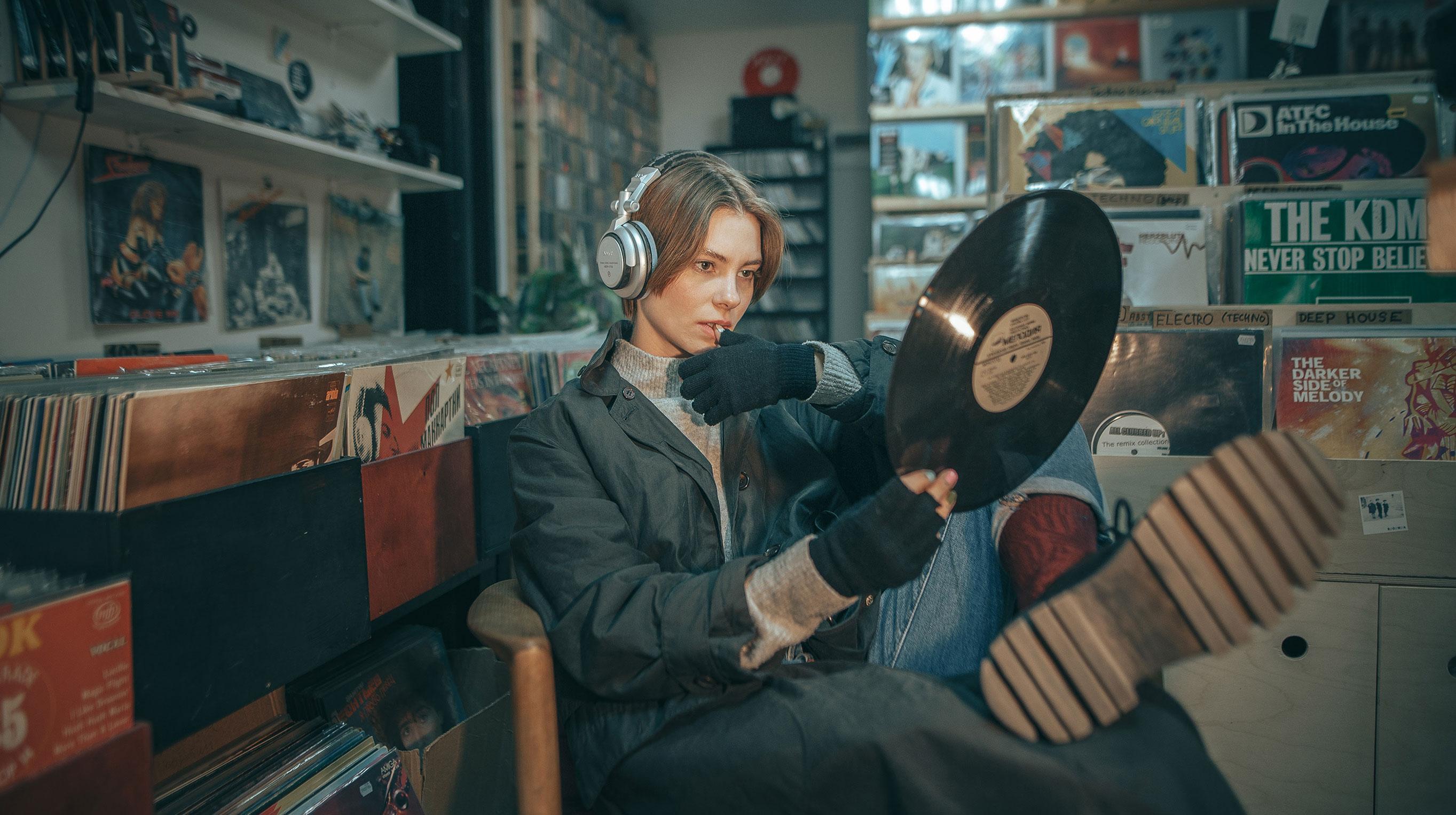 Перебираем раритетные пластинки с Ольгой Бессоновой / фото 03