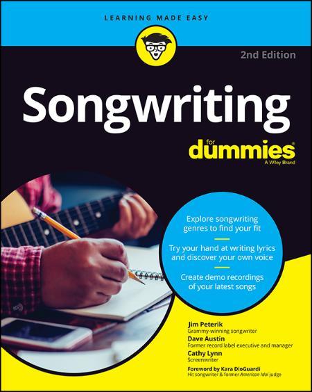 Songwriting For Dummies - Jim Peterik