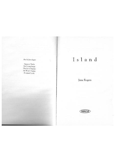 Jane Rogers Island
