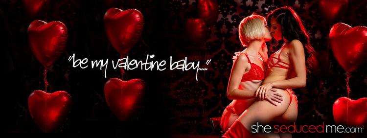 Jessie Saint, Judy Jolie: Be My Valentine (FullHD / 1080p / 2021) [SheSeducedMe]
