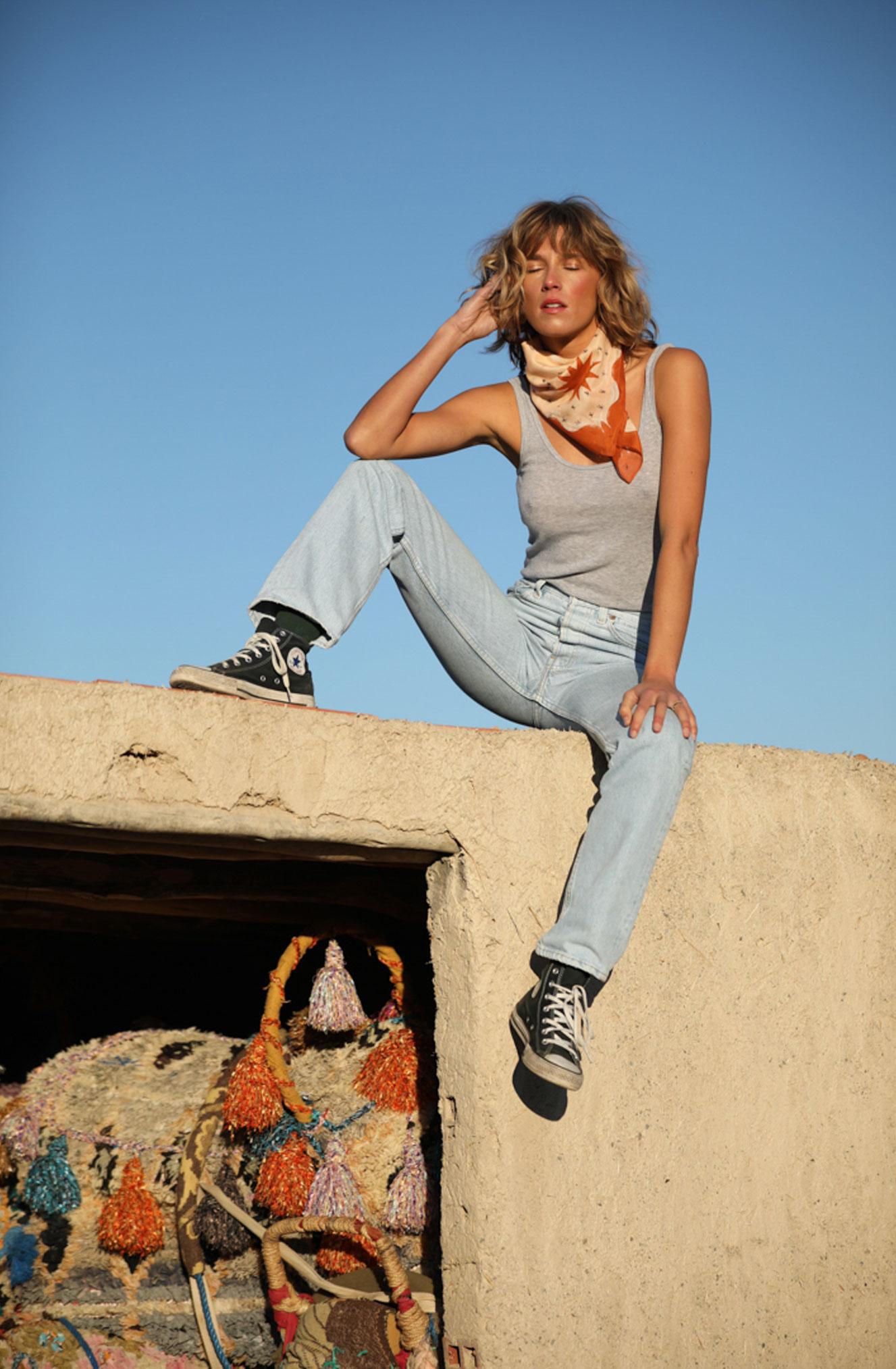 Поездка по Марокко в рекламе шляп, косынок и бандан Fringe and Frange / фото 07