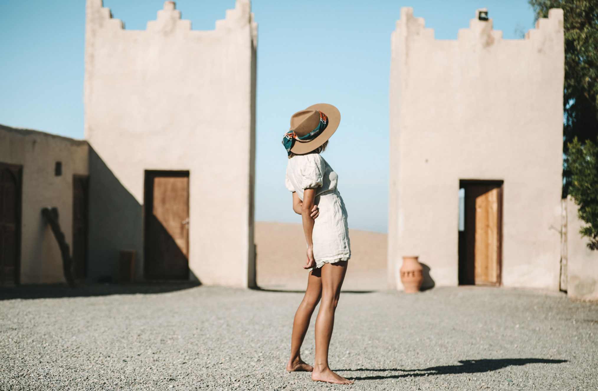 Поездка по Марокко в рекламе шляп, косынок и бандан Fringe and Frange / фото 10