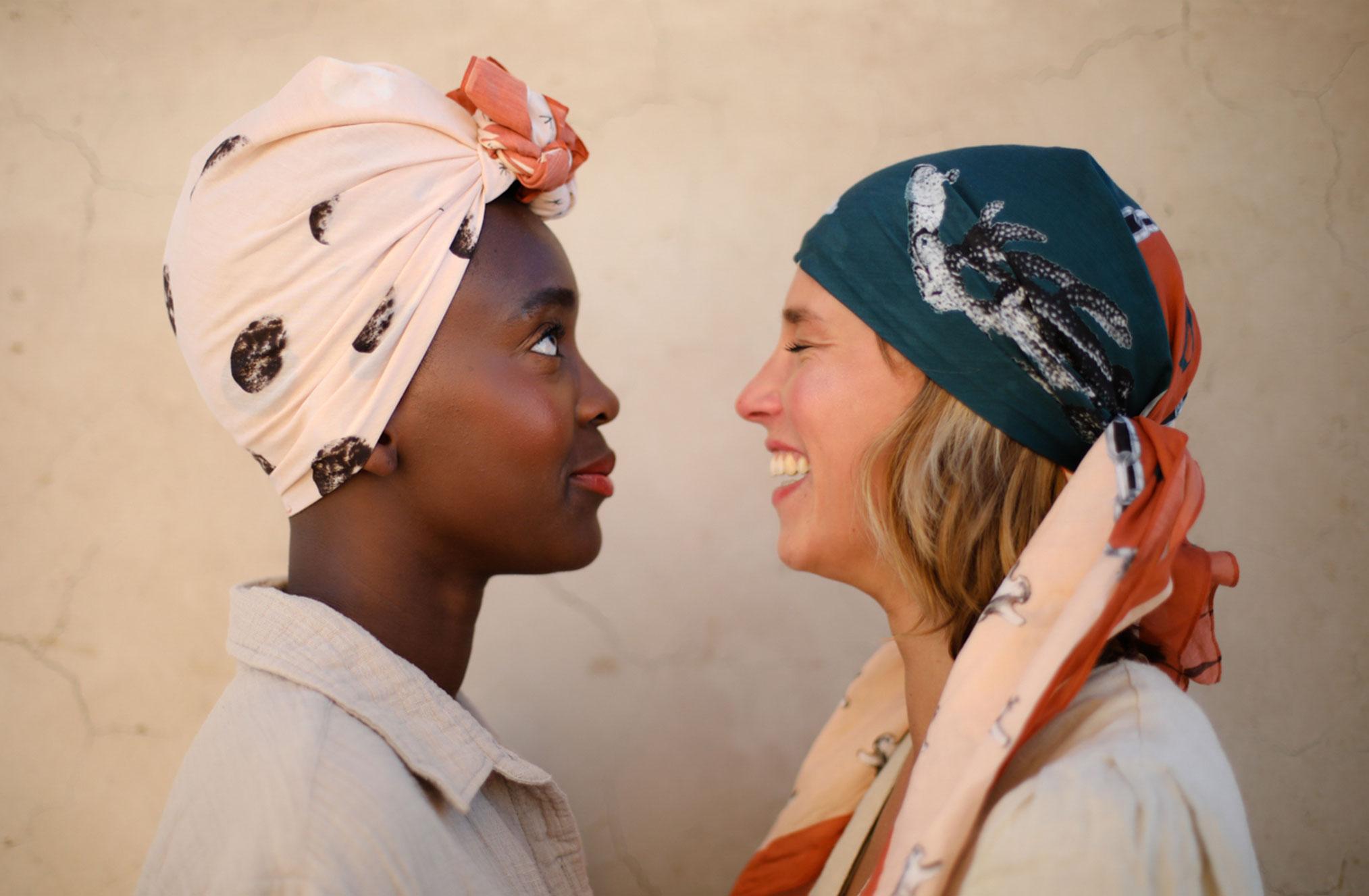 Поездка по Марокко в рекламе шляп, косынок и бандан Fringe and Frange / фото 12