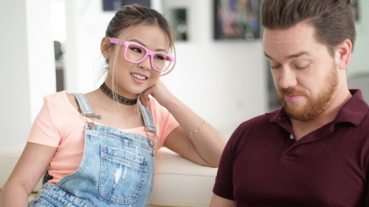 PornPros: Nerdy Asian Teen Lulu Chu Gets her Extremely Tight Pussy Creampied by Monster Cock - Lulu Chu [2021] (FullHD 1080p)