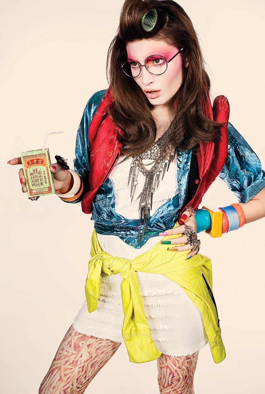 модная девушка в японском стиле Harajuku / фото 01