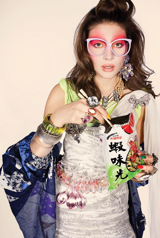 модная девушка в японском стиле Harajuku / фото 07