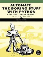 Automate the Boring Stuff with - Al Sweigart