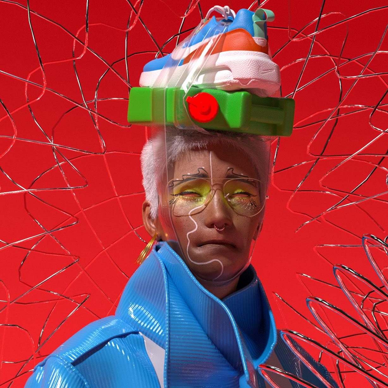 3D мода в работах китайского стилиста zhuuvvv / фото 0