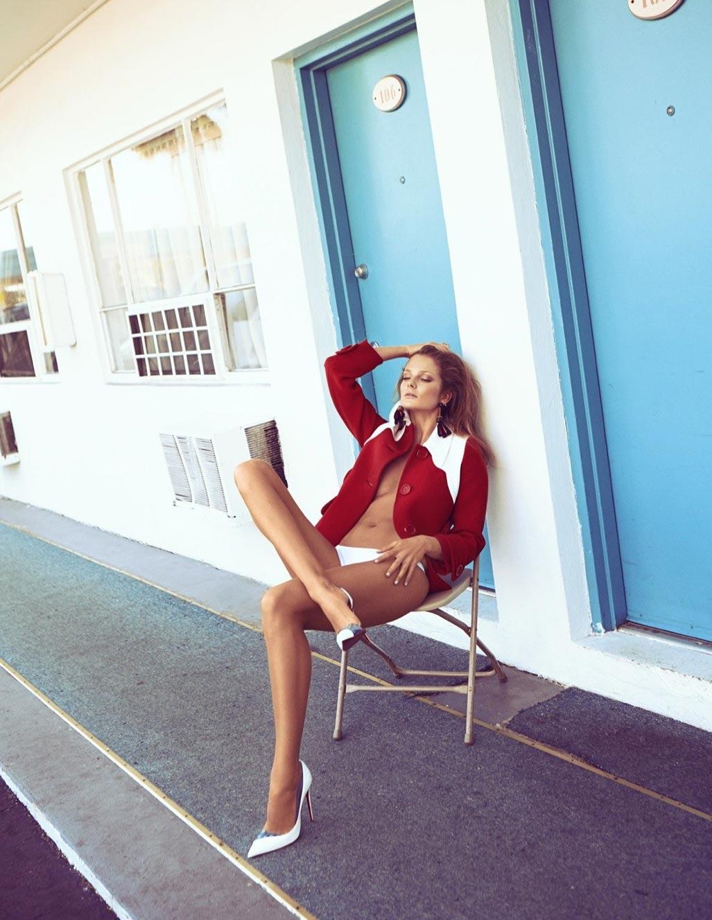 Энико Михалик в журнале Vogue Мексика, март 2014 / фото 04