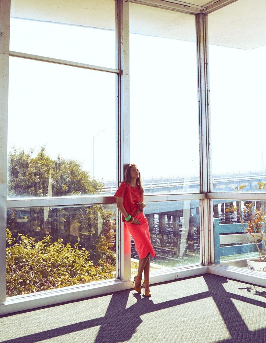 Энико Михалик в журнале Vogue Мексика, март 2014 / фото 12