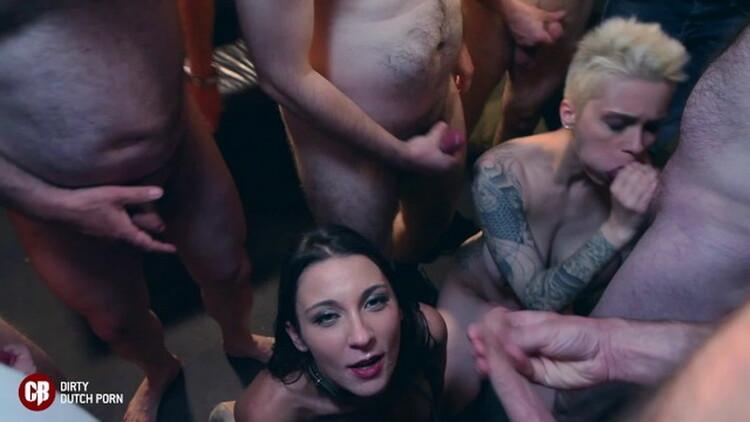 Julie Skyhigh - 2 Submissive Sluts in a Bar with a Biker Gang Julie Skyhigh Mila Milan [CumBizz] (FullHD|MP4|922 MB|2021)