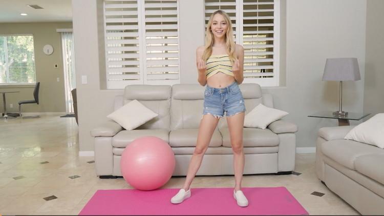 [Fit18] - Lily Larimar - POV Casting Skinny 100lb Blonde Teen in Yoga Pants (2021 / FullHD 1080p)