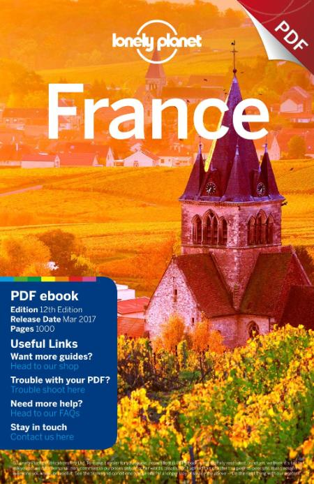 France 2017 Lonely Planet