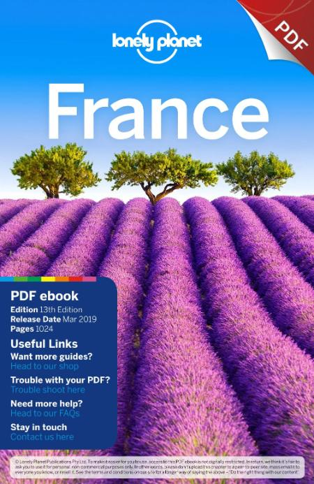 France 2019 Lonely Planet