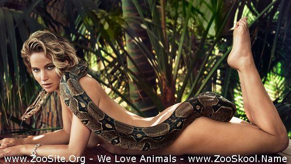 191910076 0150 fun jennifer lawrence nude photo with snake for vanity fair - Jennifer Lawrence Nude Photo With Snake For Vanity Fair