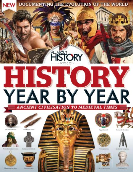 All About History Book of History Year By Year