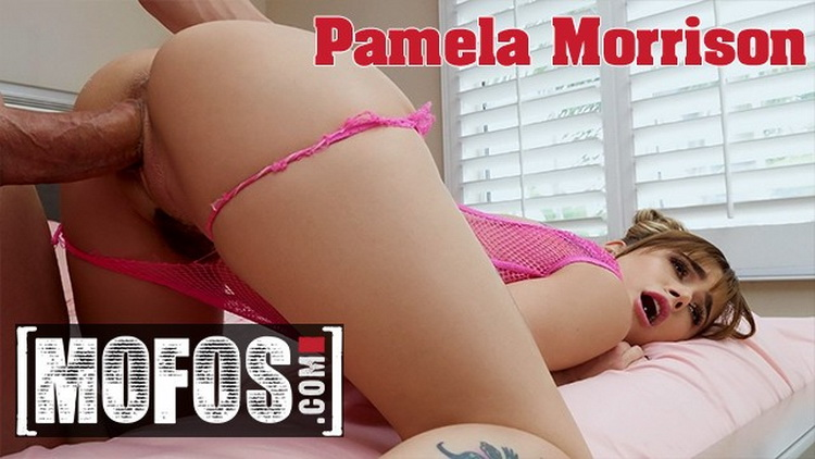 [Mofos] - Pamela Morrison - Small Tit Pamela Morrison Takes Big Facial from Huge Cock (2021 / FullHD 1080p)