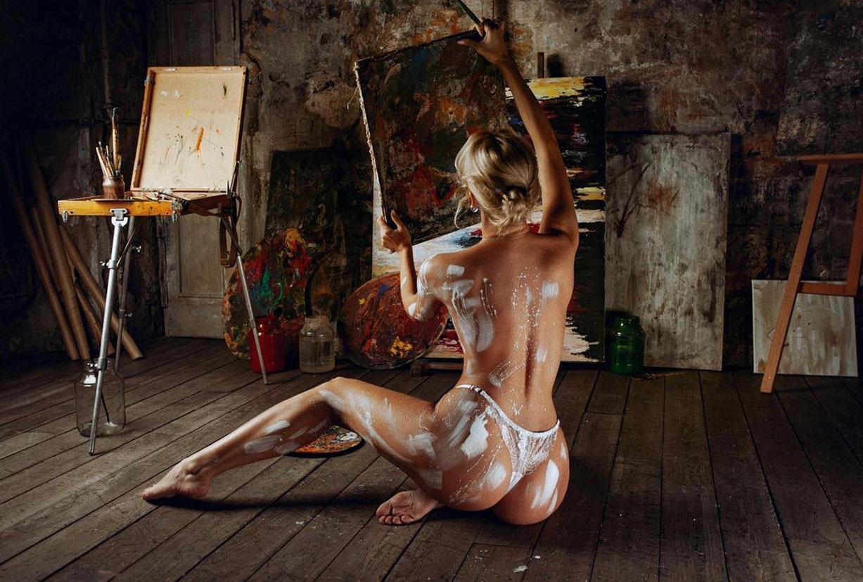 урок изобразительного искусства в художественной школе благородных девиц / фото 0