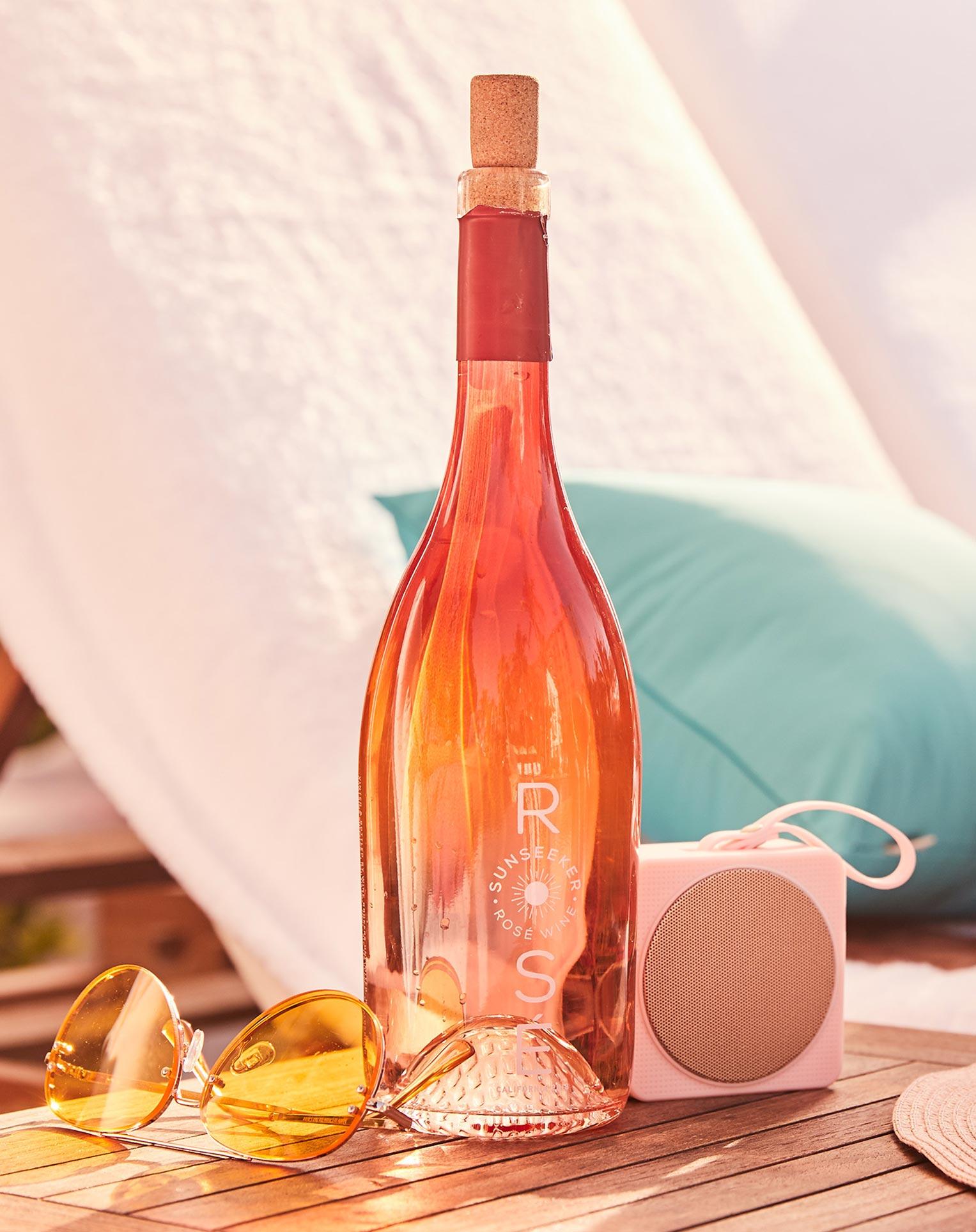 рекламная кампания вина Sunseeker Rose / фото 02