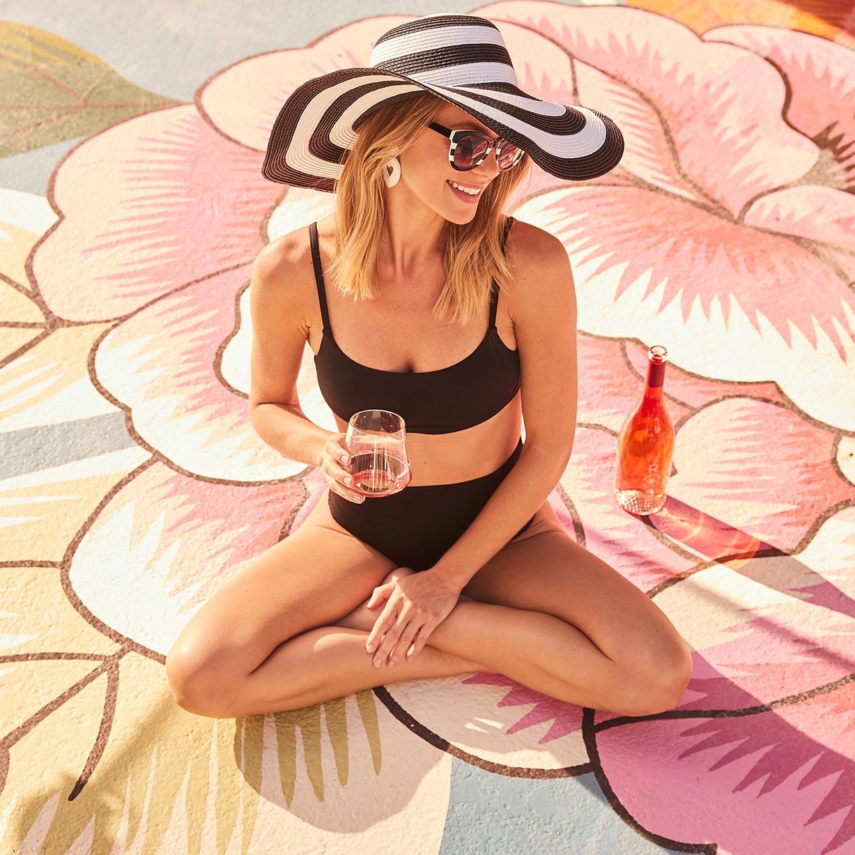 рекламная кампания вина Sunseeker Rose / фото 04