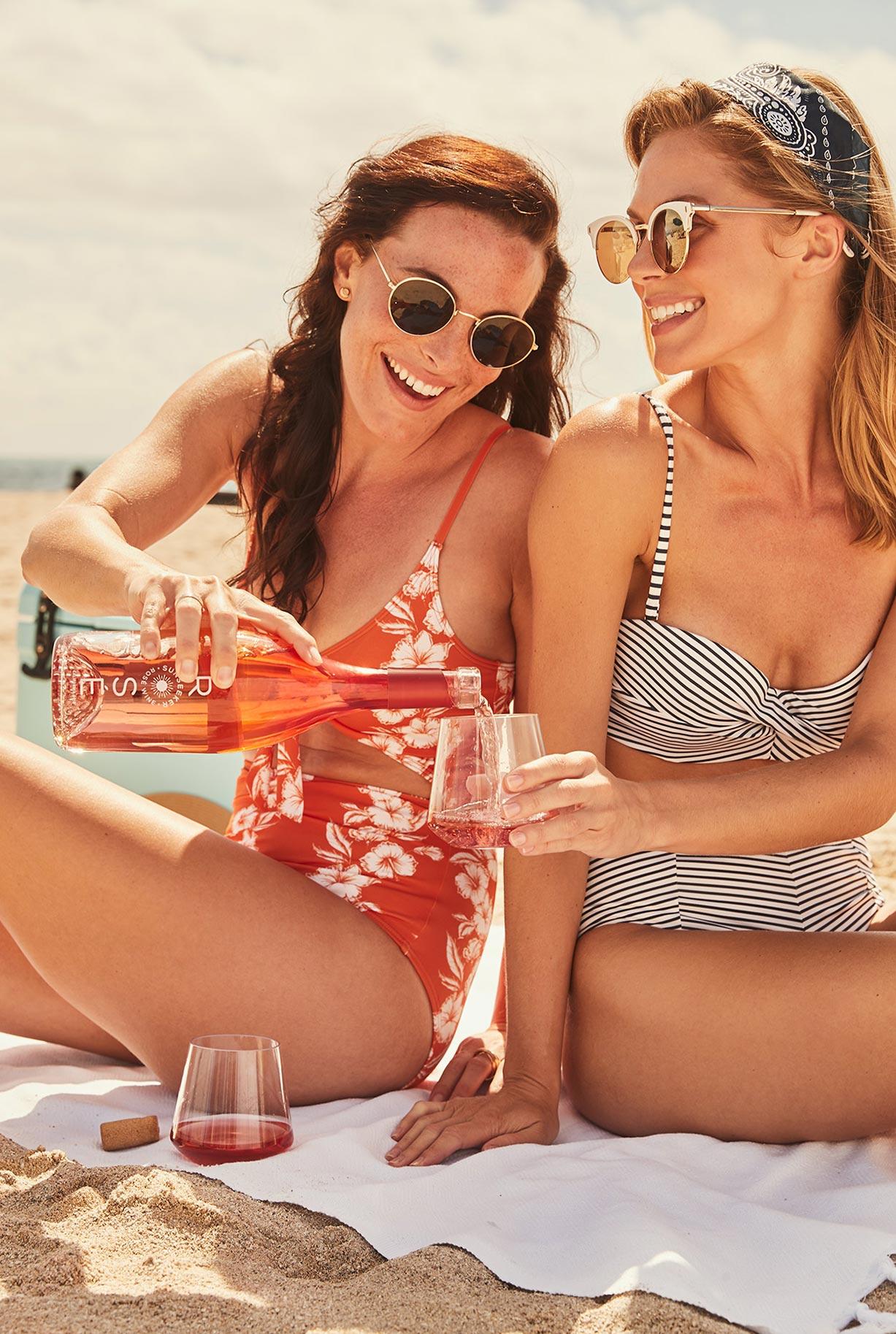 рекламная кампания вина Sunseeker Rose / фото 06