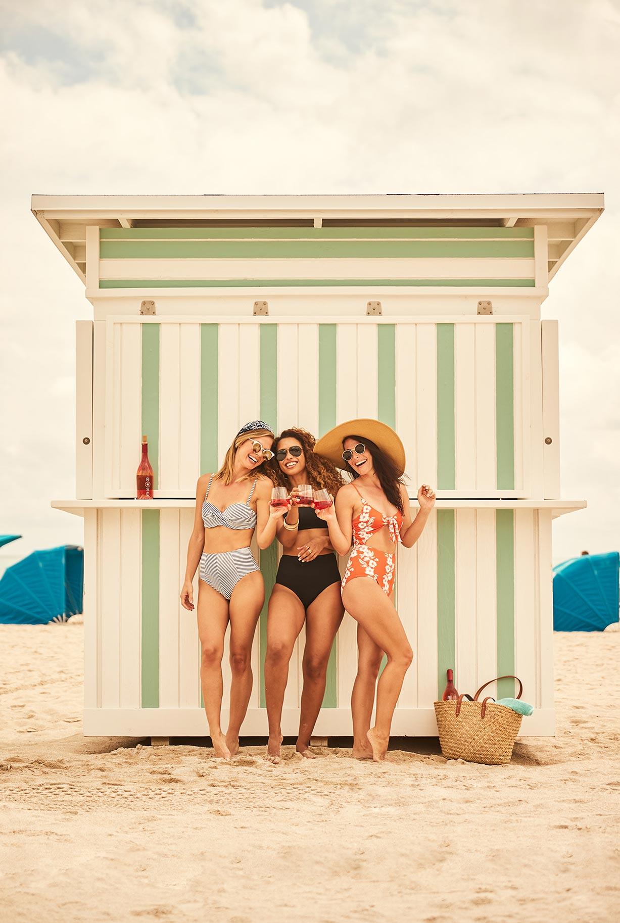 рекламная кампания вина Sunseeker Rose / фото 08