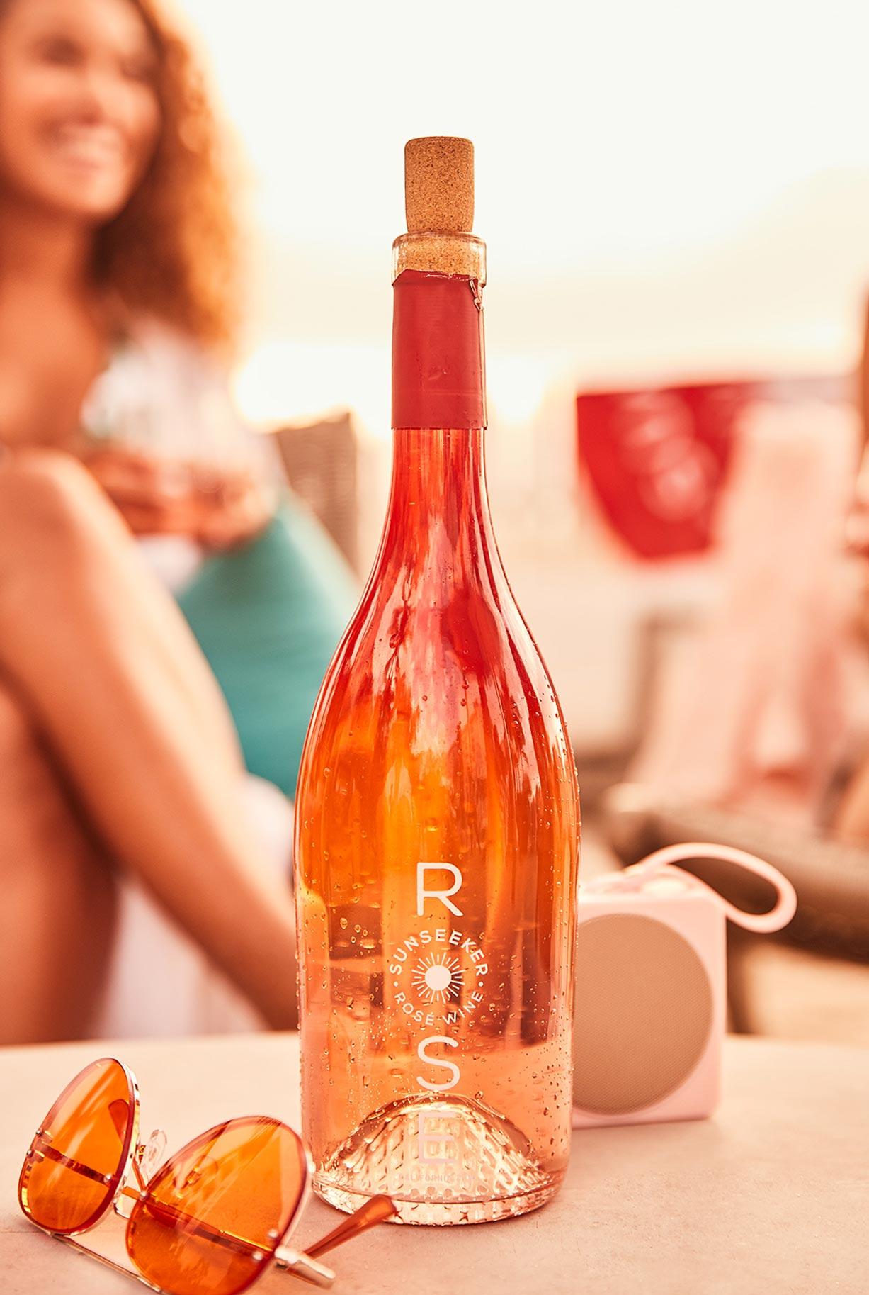 рекламная кампания вина Sunseeker Rose / фото 09