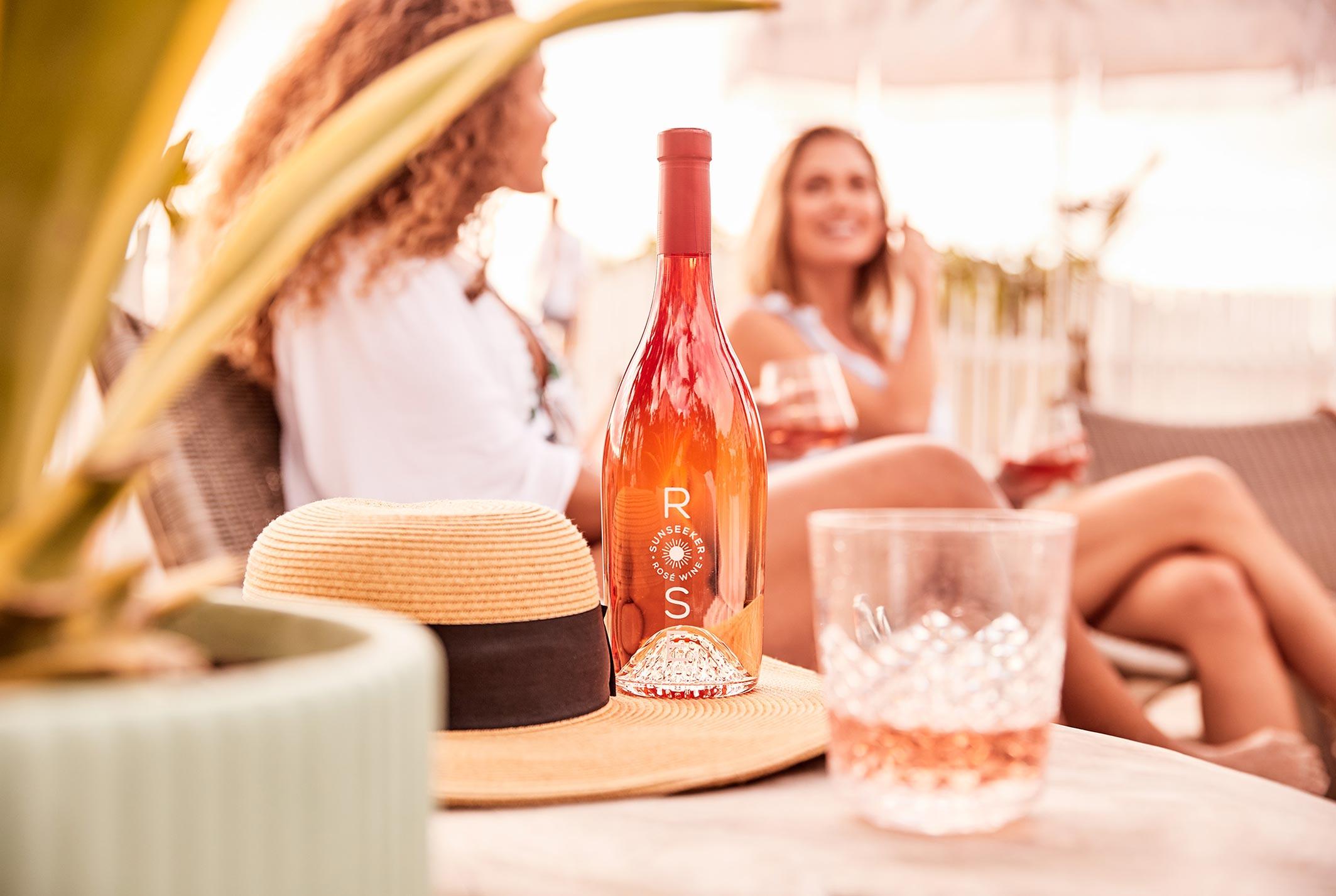рекламная кампания вина Sunseeker Rose / фото 10