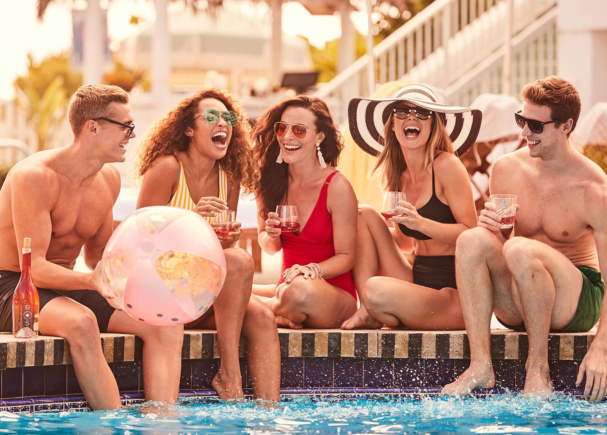 рекламная кампания вина Sunseeker Rose / фото 11