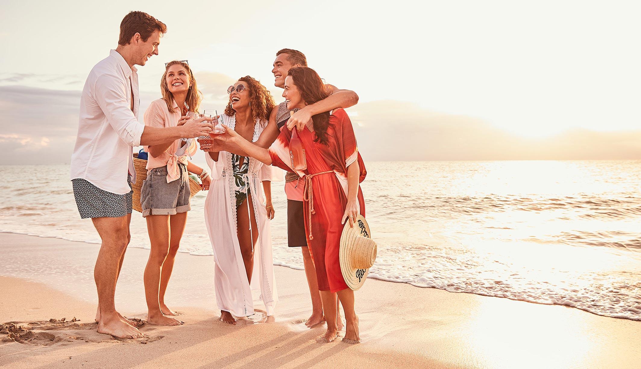 рекламная кампания вина Sunseeker Rose / фото 17
