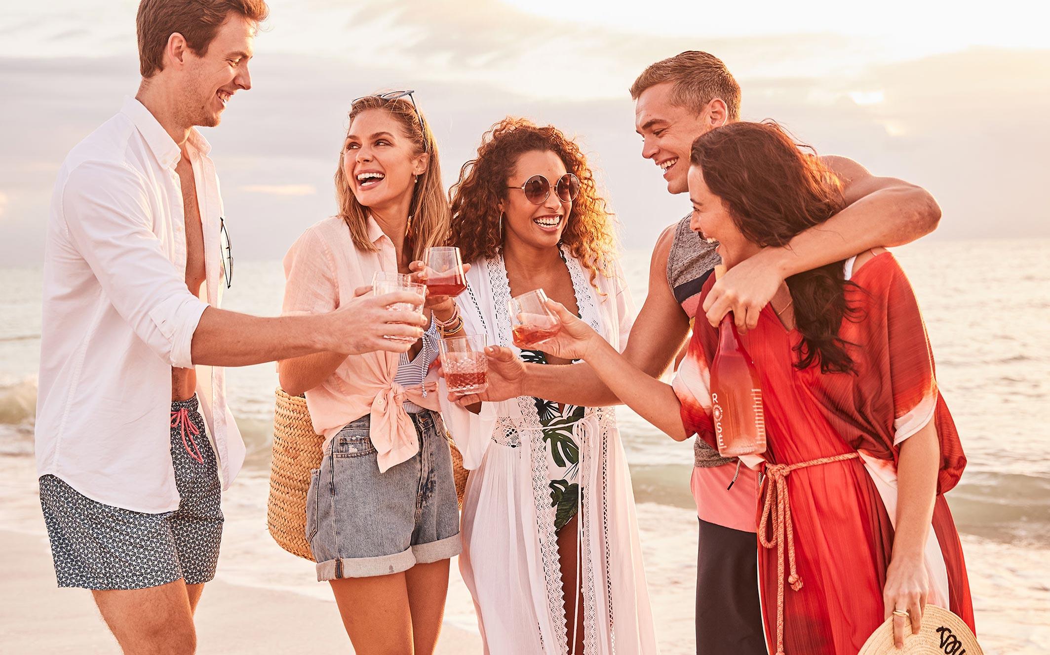 рекламная кампания вина Sunseeker Rose / фото 18