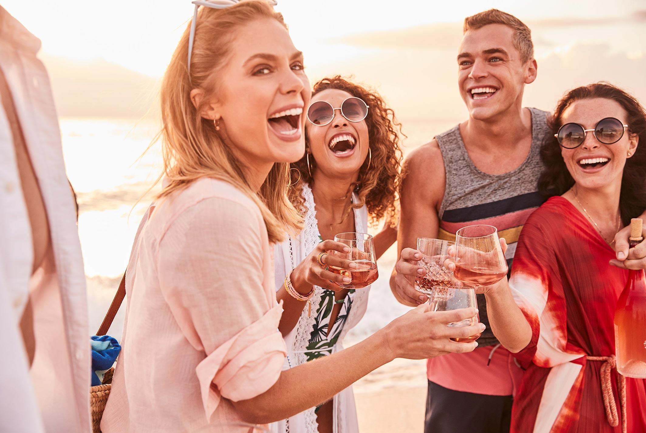 рекламная кампания вина Sunseeker Rose / фото 21