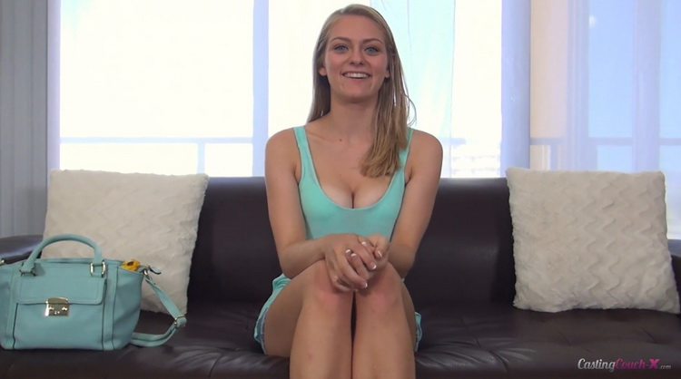 [CastingCouch-X] - Alli Rae - FIRST SCENE! Petite Blonde Teen Squirts all over Casting Agents Cock (2021 / FullHD 1080p)