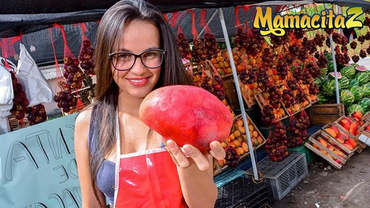 [MamacitaZ] - Jenifer Valencia - Nerdy Latina Colombiana Teen Picked up at the Market (2021 / FullHD 1080p)