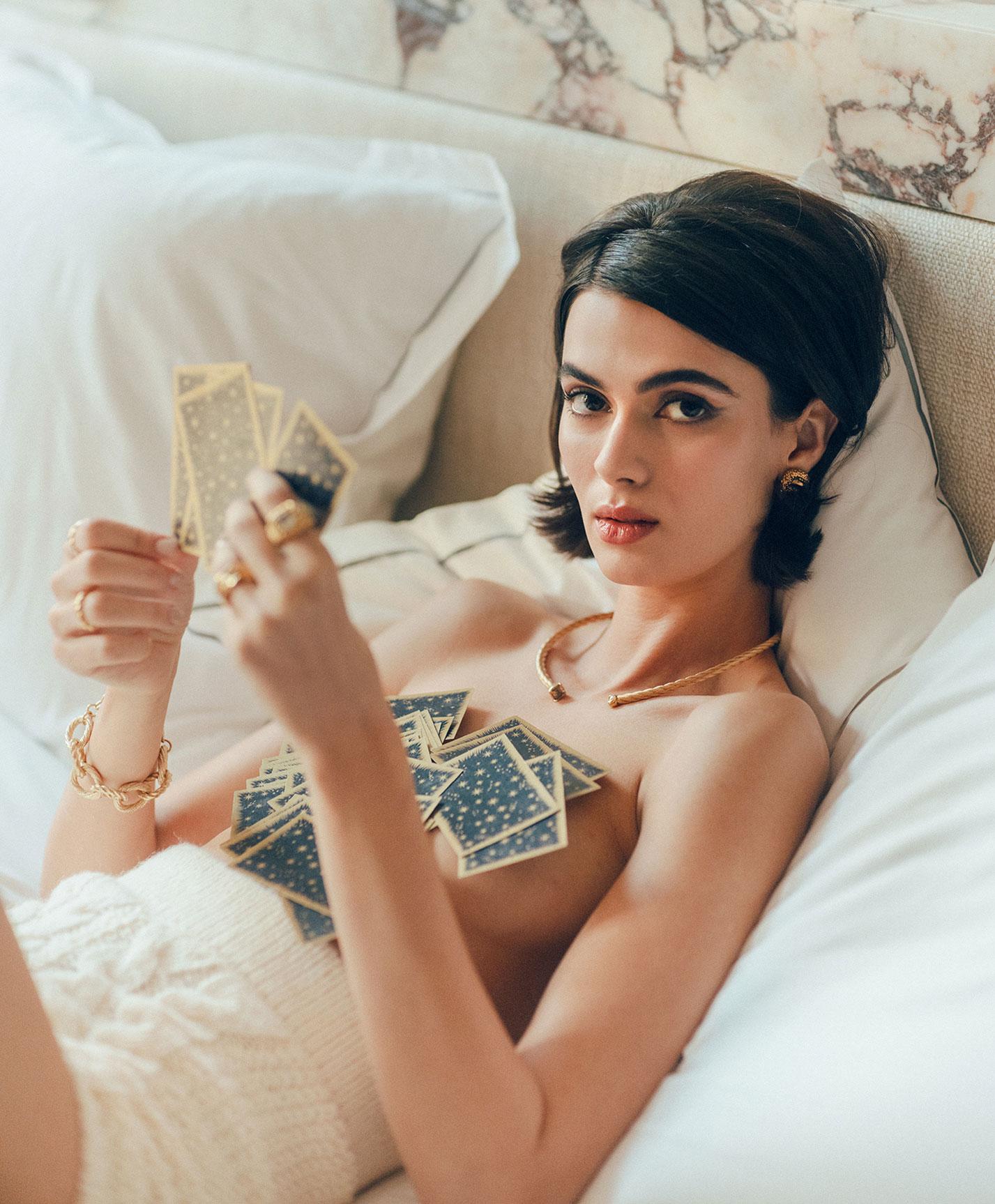 рекламная кампания парижского ювелирного бренда Bonanza / фото 05