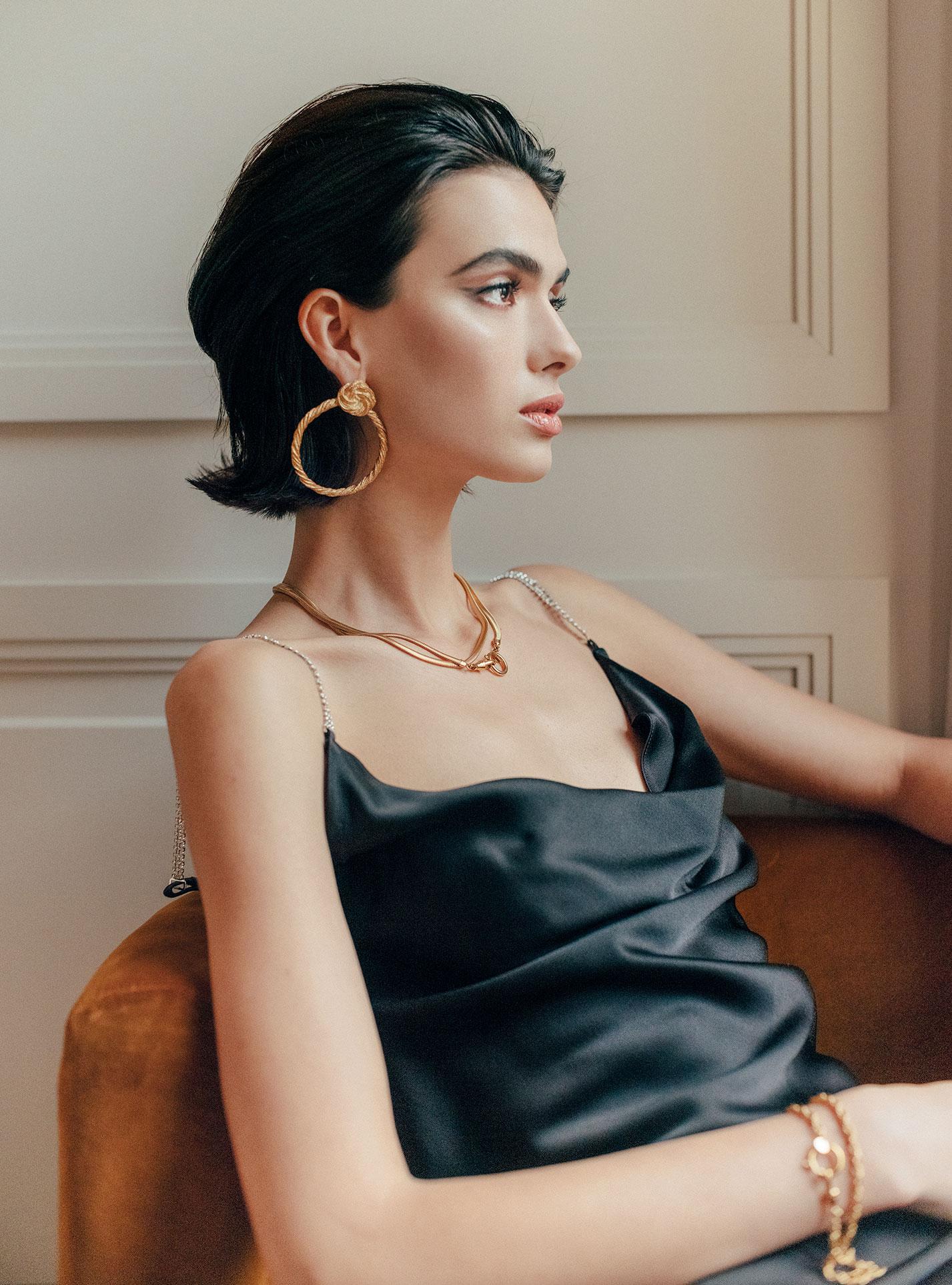 рекламная кампания парижского ювелирного бренда Bonanza / фото 11