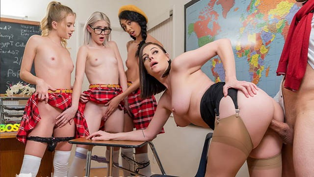[VRBANGERS] - Valentine - Day With Horny Students In The Classroom (2021 / UltraHD 2K 1440p)