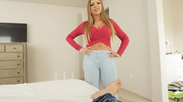 [MomsTeachSex] - Britney Amber - Mom is tricked into sex by horny step son-This pussy is for your dad only (2021 / HD 720p)