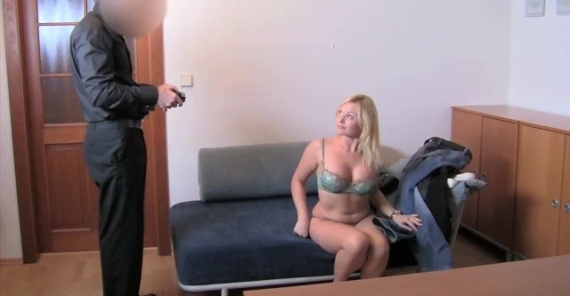 [FakeAgent] - Unknown - Clueless Blonde tricked into anal Sex in Casting interview (2021 / HD 720p)