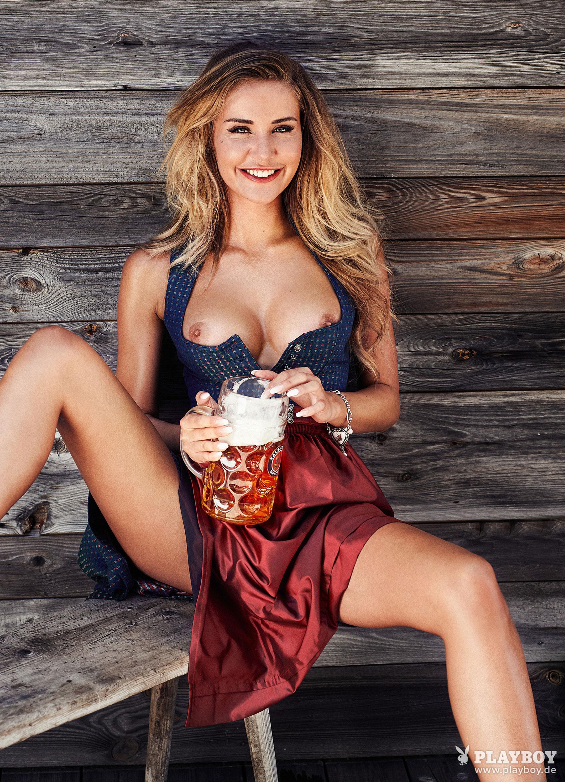 Julia Prokopy - девушка месяца Playboy Germany, октябрь 2018 / фото 04