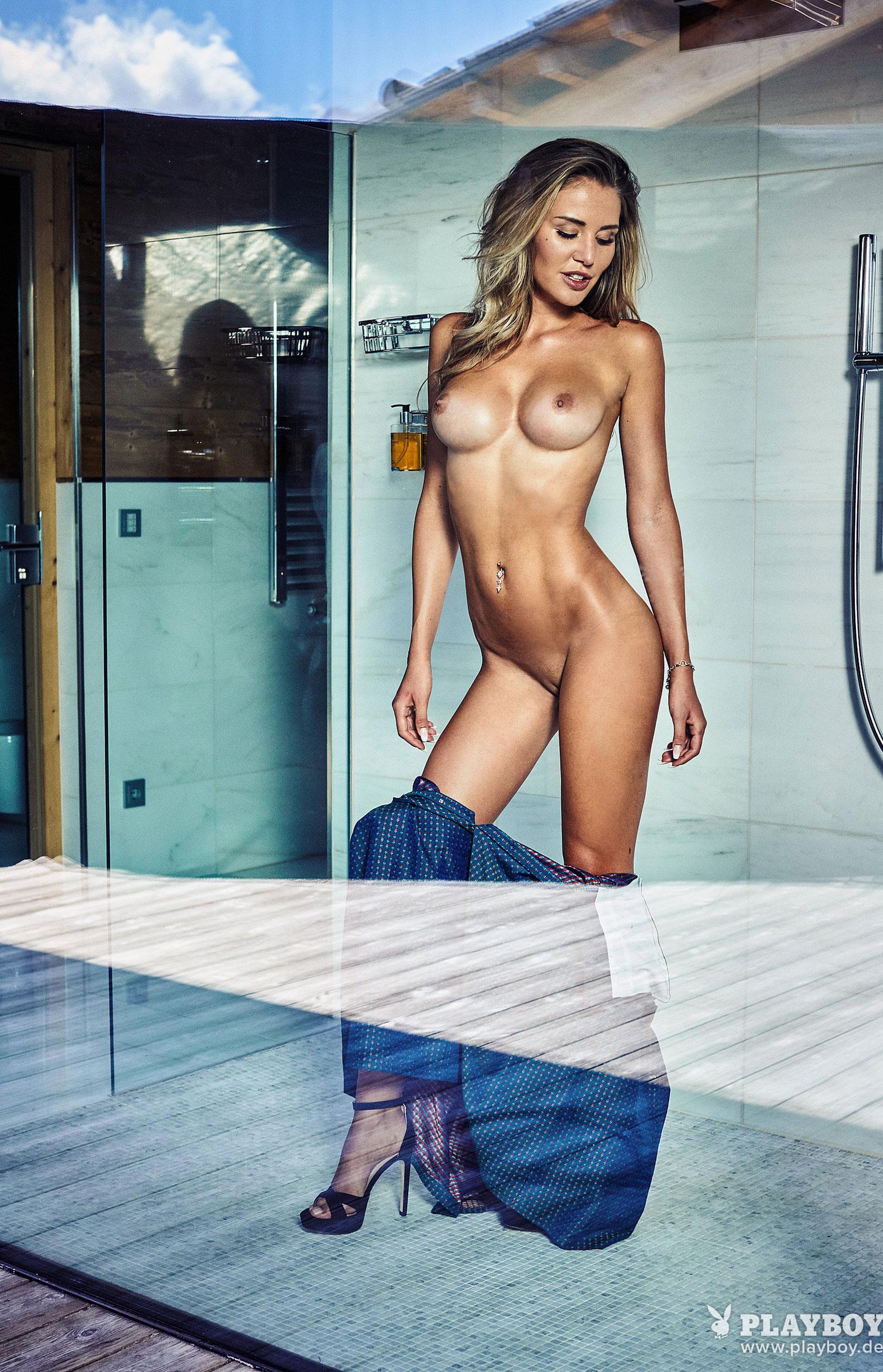 Julia Prokopy - девушка месяца Playboy Germany, октябрь 2018 / фото 05