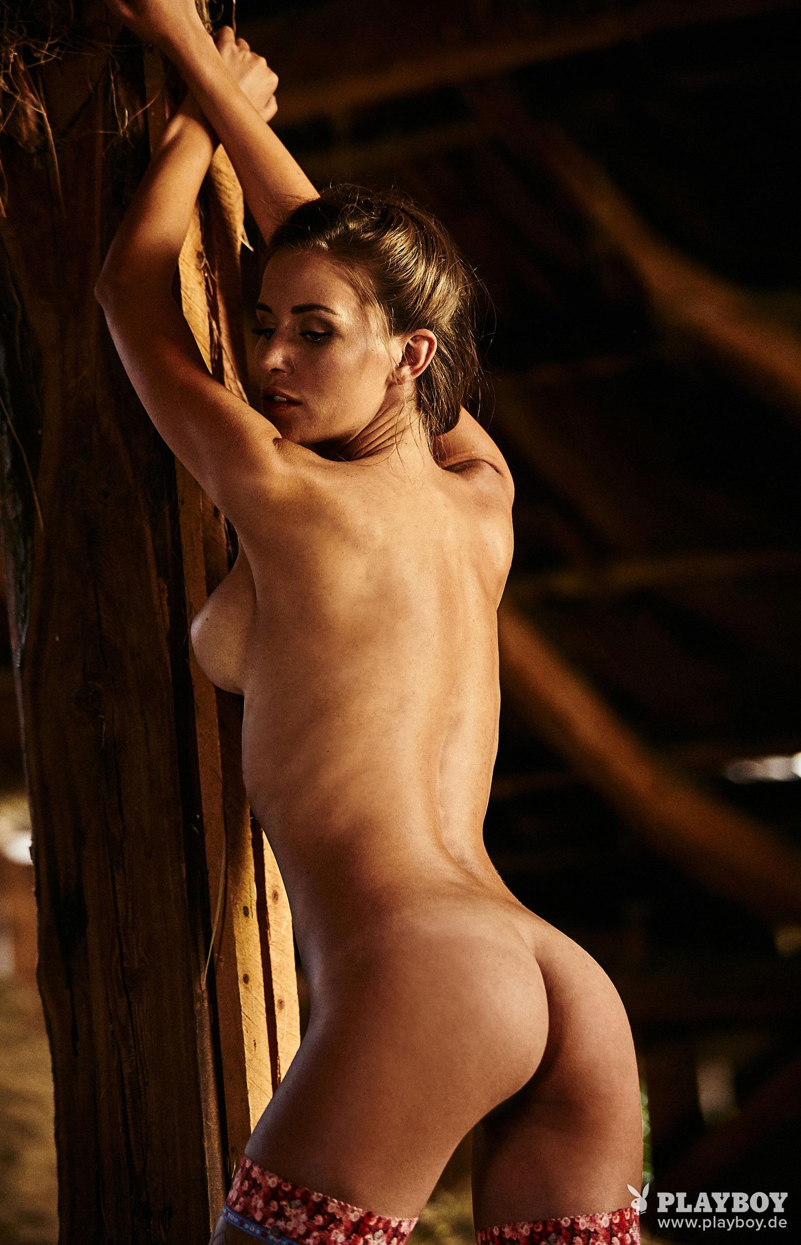 Julia Prokopy - девушка месяца Playboy Germany, октябрь 2018 / фото 09