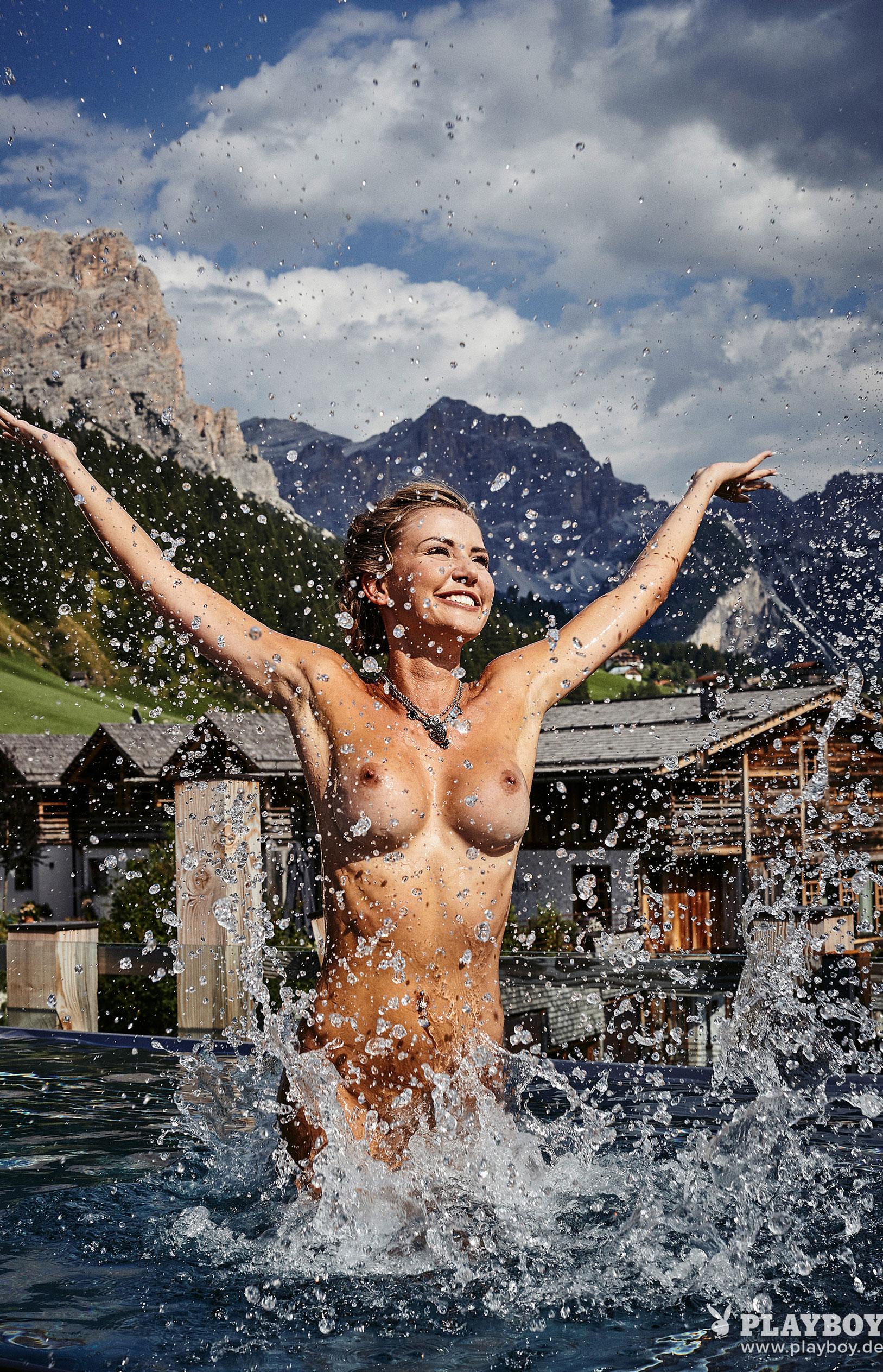 Julia Prokopy - девушка месяца Playboy Germany, октябрь 2018 / фото 10