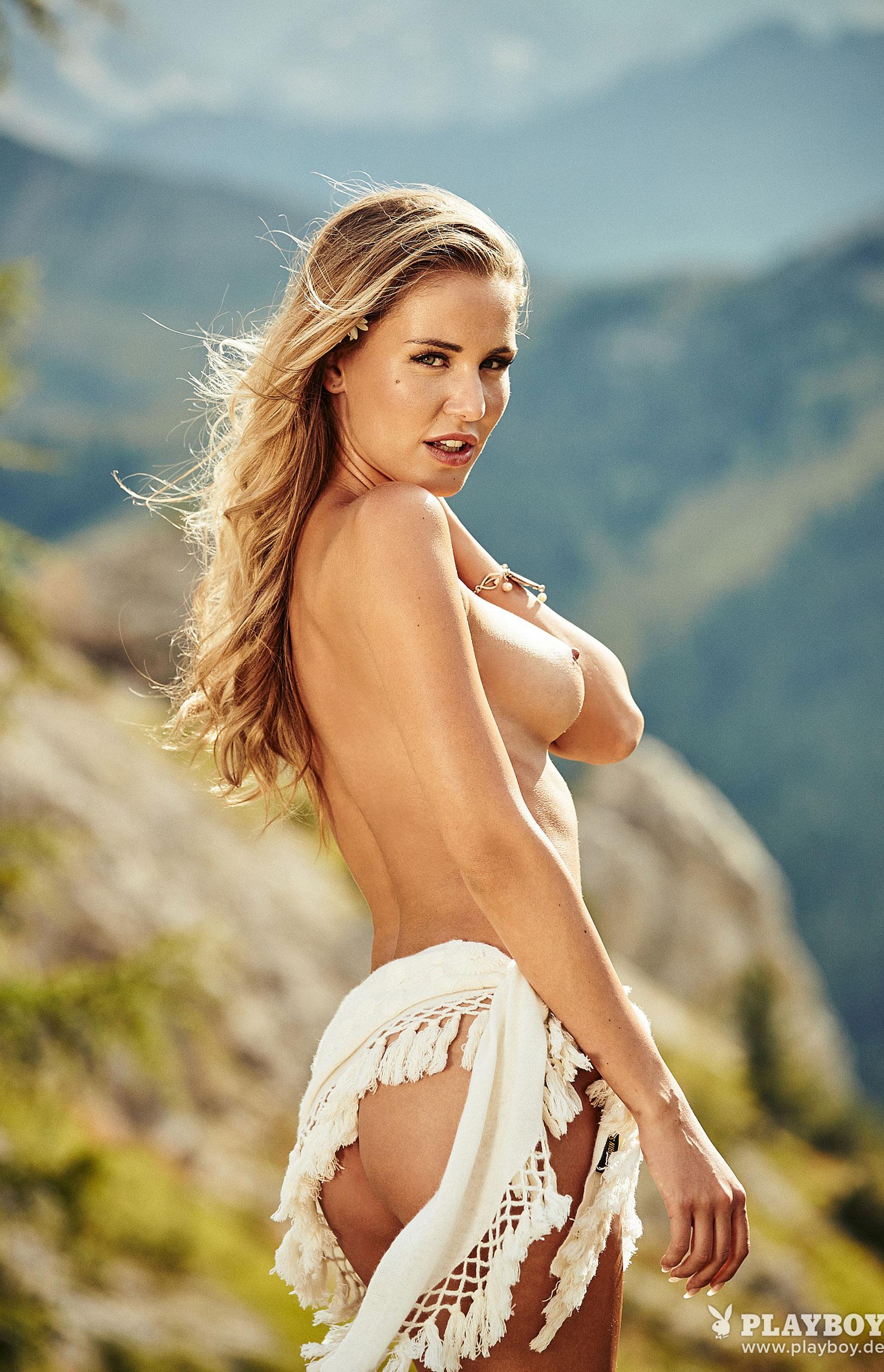 Julia Prokopy - девушка месяца Playboy Germany, октябрь 2018 / фото 16