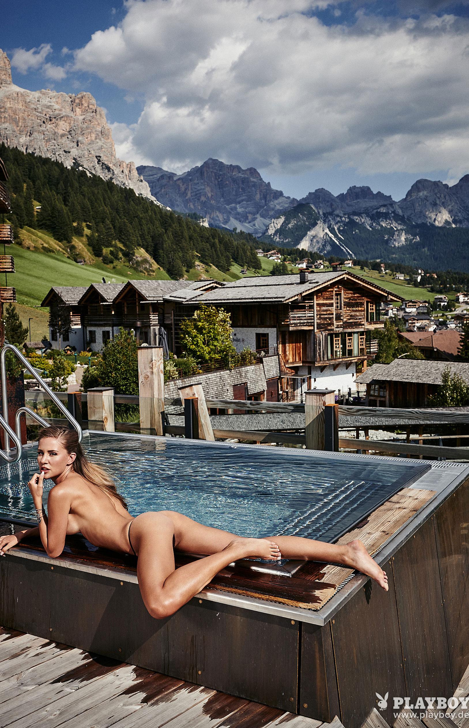 Julia Prokopy - девушка месяца Playboy Germany, октябрь 2018 / фото 18