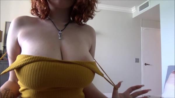 AlexAdams: Annabel Redd - Busty Redhead Teen Fucks Her Boyfriends Dad (HD) - 2021