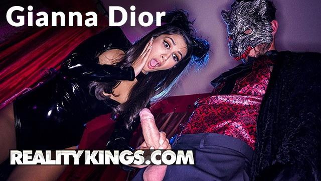 [RealityKings] - Gianna Dior - Kinky Leather Kitty Gianna Dior gets Halloween fucking (2021 / FullHD 1080p)