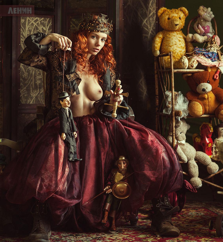 Марта Громова и ее куклы / фото 01