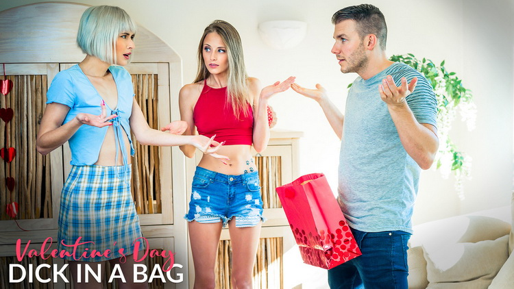 [MyFamilyPies/Nubiles-Porn] - Jessie Saint, Kyler Quinn - Valentines Day Dick In A Bag (2021 / HD 720p)