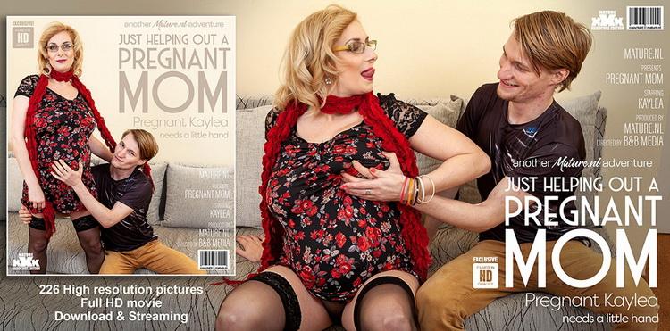 [Mature.nl] - Kaylea (37) - Hairy Pregnant Mom Fucks Toyboy (2021 / FullHD 1080p)